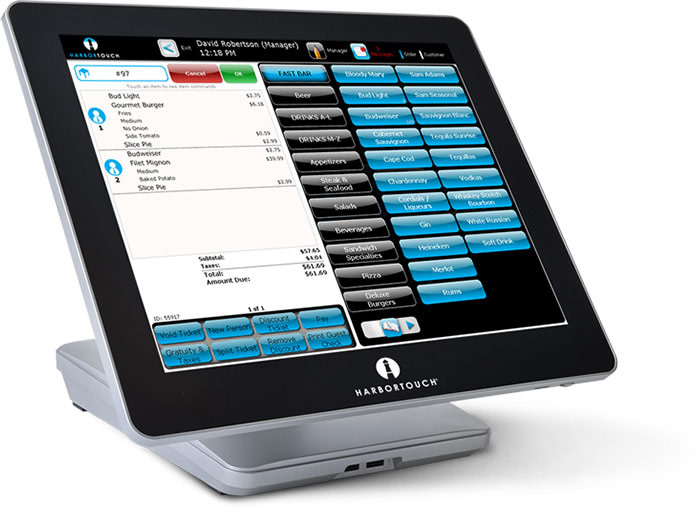 Restaurant POS Software and Hardware Terminal
